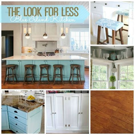 5 ways to fake a kitchen island infarrantly creative 17 best ideas about island blue on pinterest colored