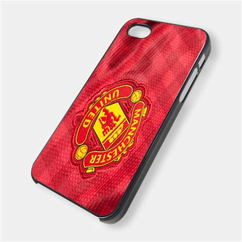 Iphone 4 4s Manchester United Stripe Black Cover Casing manchester united special design iphone 4 cover on luulla