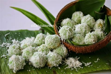 cara membuat onde onde durian onde onde buah melaka blog kakwan