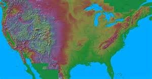 relief map of united states maps of america