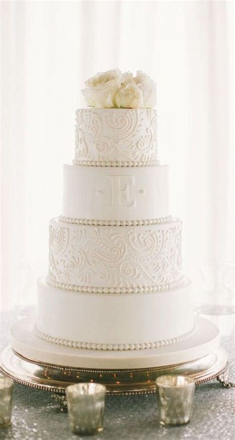 25 best ideas about monogram wedding cakes on
