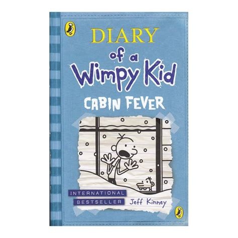 libro diary of a wimpy diary of a wimpy kid cabin fever puffin libros dideco