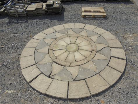 Patio Circles Buy by Concrete Patio Circle Authentic Reclamation
