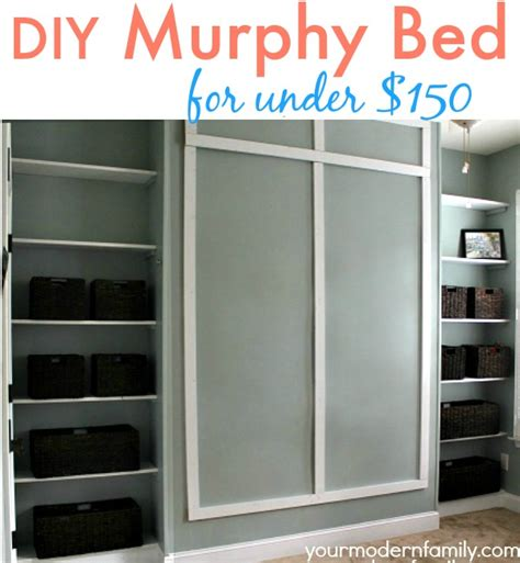 diy murphy bed pdf how to make a murphy bed cheap plans free