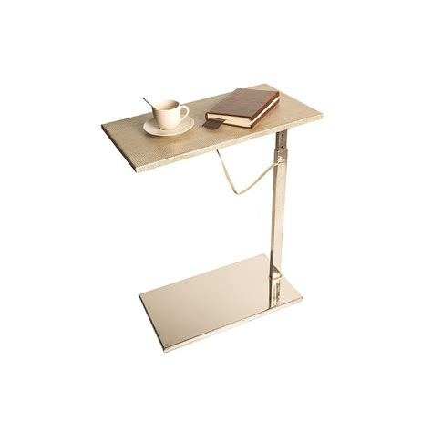adjustable height end table end table adjustable height lounge table absolute breton