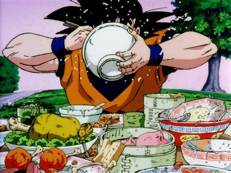 imagenes de goku comiendo la comida de dragon ball invade las tiendas lawson koi