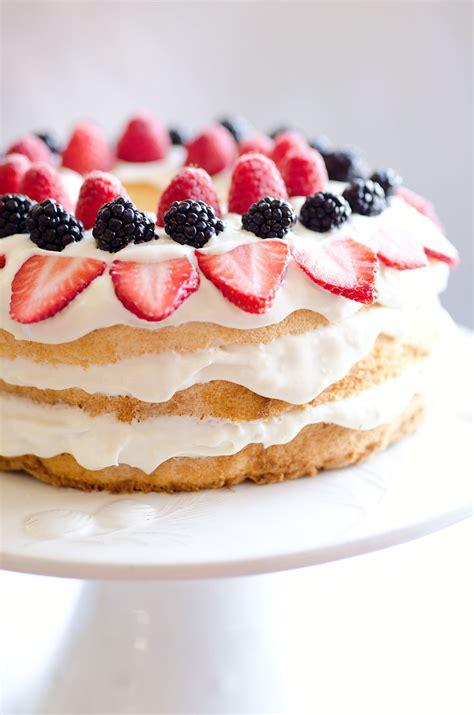 light desserts light berry food cake 15 minute dessert