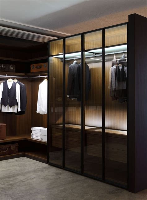 Walk In Wardrobe Storage Systems by Porro Factory Showroom The Closet Horde