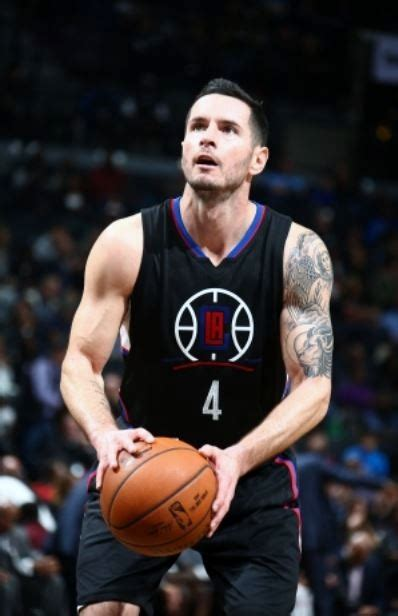 jj redick tattoos jj redick with new arm in black clippers jersey