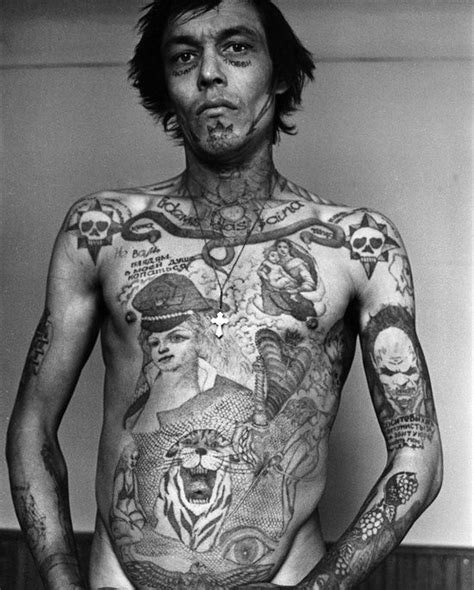 russian gang tattoos 20 and real prison designs designs