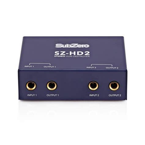 Subzero Sz Mix04 4 subzero sz hd2 hum destroyer at gear4music