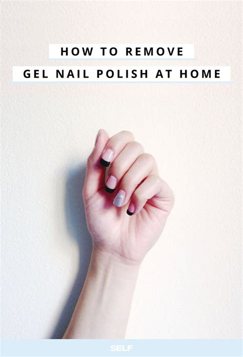 how to actually remove gel nail without destroying