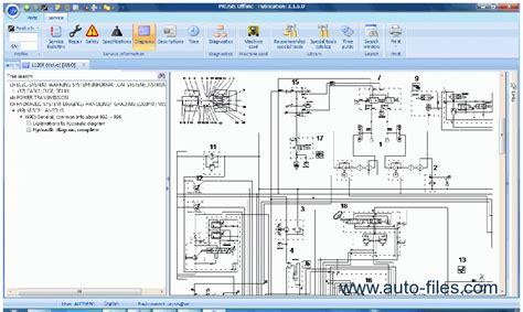 volvo prosis  construction equipment parts repair spare parts catalog repair manual