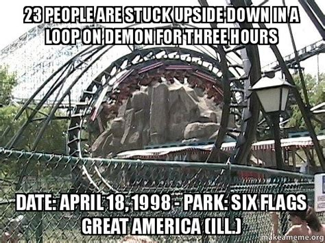 23 people are stuck upside down in a loop on demon for