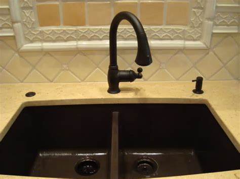 tropic brown granite with black silgranit sink kitchen what can you tell me about blanco silgranit sinks pics