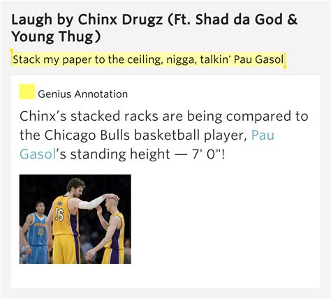 Stack Paper To The Ceiling by Stack Paper To The Ceiling Talkin Pau Gasol