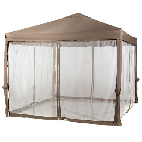 gazebo netting 10 x 10 outdoor garden gazebo with mosquito netting