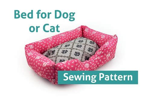 Sofa Pillow Sizes by Sewing Pattern Dog Cat Bed Pattern Pet 3 Sizes Pillow