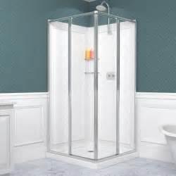 36 Inch Shower Kit Dreamline Cornerview Framed Sliding Enclosure 36 X 36