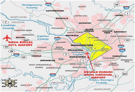 washington dc map surrounding areas washington d c medstar georgetown