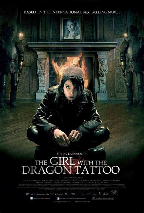 the girl with the dragon tattoo movie happyotter the with the 2009