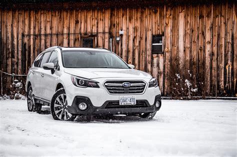 subaru outback 2018 white 2018 subaru outback 3 6r premier review canadian auto review