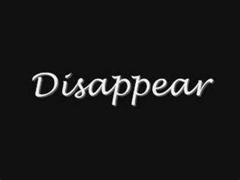 disappear bullet for my disappear bullet for my