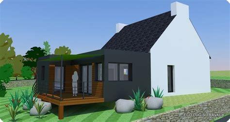 agrandissement maison nouvelle loi 3173 agrandissement avec toit plat eco logis travaux