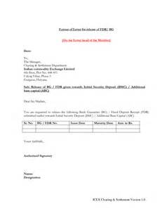 Emd Release Letter Format Best Photos Of Letter Security Deposit Form Landlord