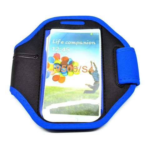 Neoprene Material Sports Armband For Samsung Note 2 3 Gagdet Unik neoprene material sports armband for samsung galaxy s3 s4 s5 ze ad006 blue