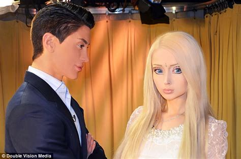 valeria lukyanova and ken rift between real life ken and barbie justin jedlica and