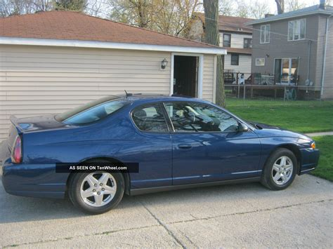 2005 monte carlo ls coupe superior blue sports package