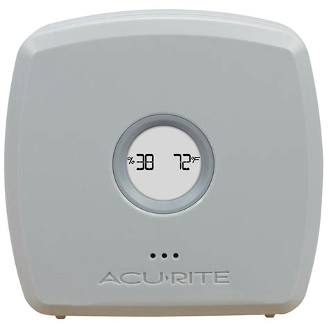 Room Temperature Monitor by Temperature And Humidity Station With 3 Sensors Acurite