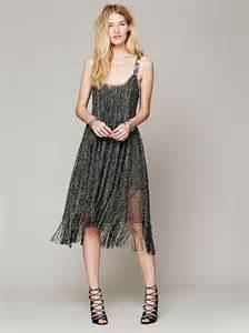 Bright Fringe Maxi Dress - 6 prom dress styles from flirty to