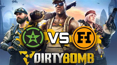 fun haus funhaus vs achievement hunter dirty bomb gameplay youtube