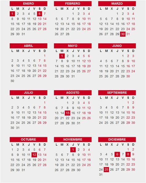 Calendario 2018 Catalunya Calendario Laboral 2018 M 225 S De 200 Plantillas Para