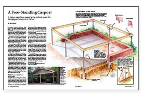 How To Build A Freestanding Carport free standing carport roselawnlutheran