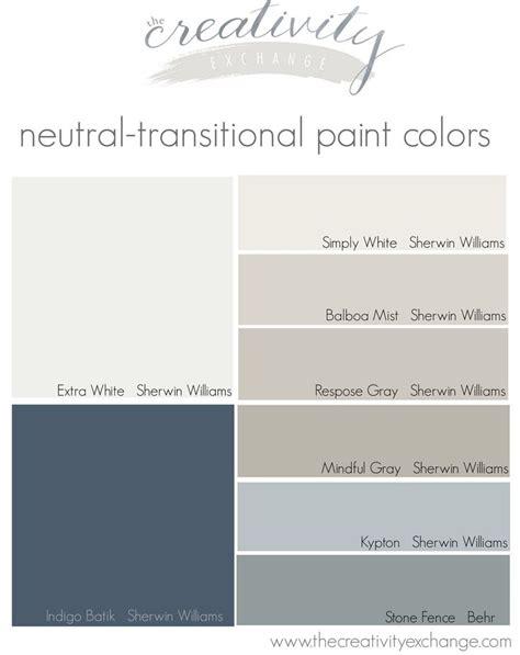 neutral transitional paint colors