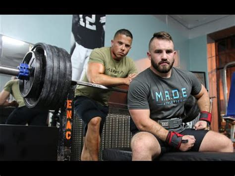 greg kovacs bench press brett gibbs 455lbs bench press youtube