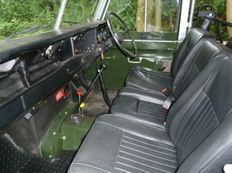 land rover series 3 interior lgo 150y 1982 land rover series 3 15 500 miles from