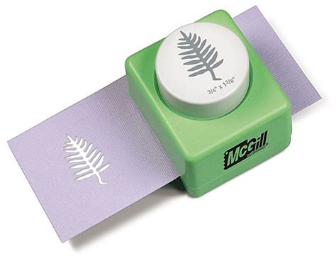 Craft Paper Punches - mcgill designer nature fern paper craft punch