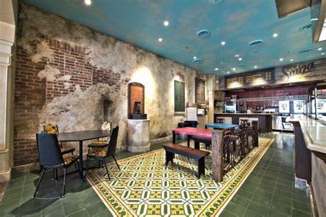 fresh simple restaurant interiors branding