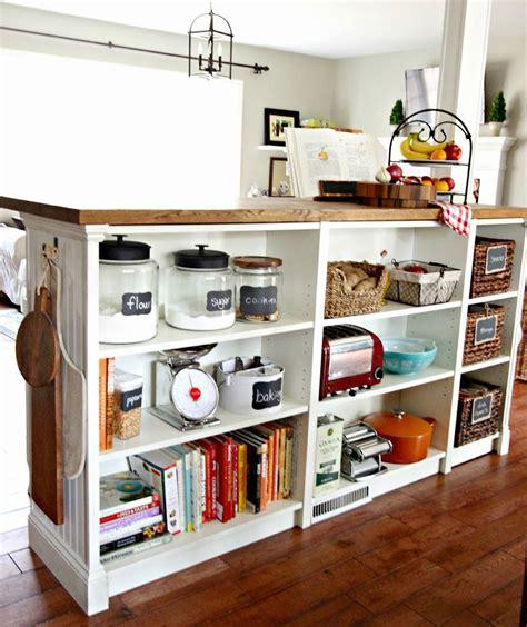 7 kitchen island bookshelves 7 diy kitchen islands to really maximize
