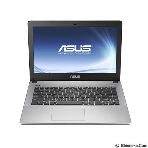 Laptop Asus A455la Wx667t jual asus notebook a455la wx667t non windows black merchant harga notebook laptop