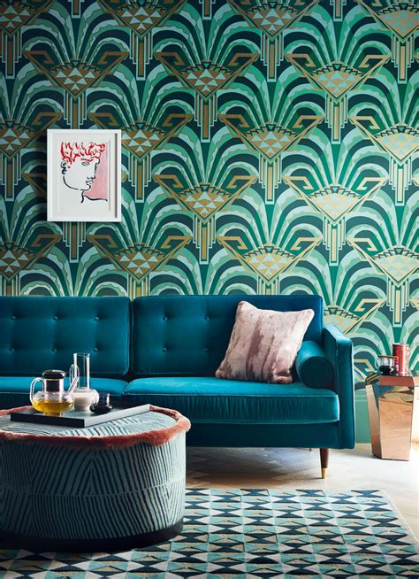 bring stylish art deco   home interior
