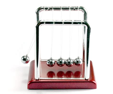 newtons classic cradle kinetic balls executive educational