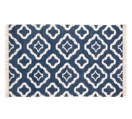 Recycled Rugs Outdoor Lily Recycled Yarn Indoor Outdoor Rug Navy Blue