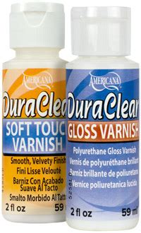 Americana Dura Clear Varnish 236ml painting thyme needfuls it s thyme for captain to