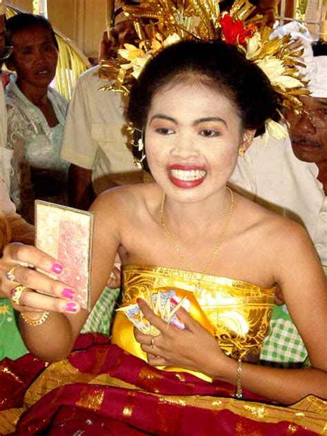 teeth filling ceremony  bali discover bali indonesia