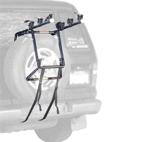 Allen Bike Racks Reviews by Allen Deluxe 3 Bike Spare Tire Mount Rack Top Bike Rack
